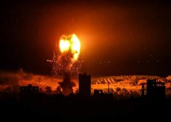 الأولى منذ التهدئة.. غارات إسرائيلية على مواقع تابعة للمقاومة في غزة