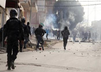 تونس.. تمدد الاحتجاجات إلى أحياء شعبية أخرى في العاصمة