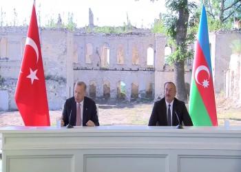 """""""إعلان شوشة"""".. انطلاق مرحلة جديدة من العلاقات التركية الأذربيجانية"""