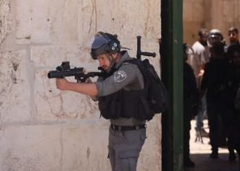 الاحتلال يقمع مسيرة انطلقت من المسجد الأقصى تنديدا بالإساءة للنبي محمد ﷺ