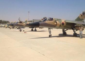 قوات حفتر تقصف جنوب غربي ليبيا وتزعم استهداف تنظيم الدولة