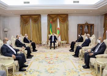 رئيس موريتانيا يستقبل وفدا من حماس برئاسة هنية