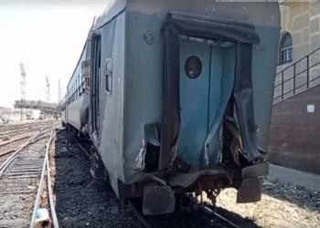 حادث قطار جديد شمالي مصر يسفر عن إصابة 8 أشخاص