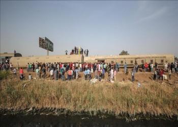 مصر.. ارتفاع إصابات حادث قطار الإسكندرية إلى 40