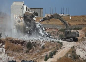 إسرائيل تخطر 21 منزلا ومسجدا تحت الإنشاء بالهدم في الضفة الغربية
