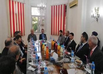 القائم بأعمال سفارة ليبيا بالقاهرة يتسلم مهامه