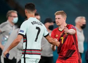 يورو 2020.. بلجيكا تطيح بالبرتغال والتشيك تصدم هولندا