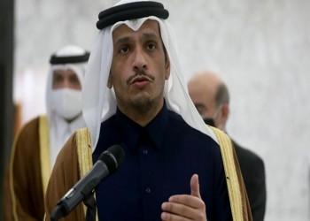 وزير خارجية قطر يستعرض مع نظيره الأمريكي تطورات المنطقة