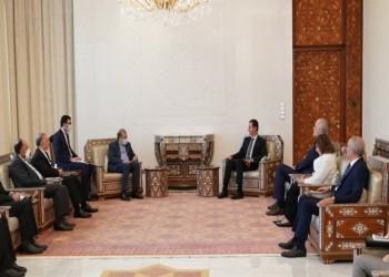 رئيس النظام السوري يستقبل مسؤولا إيرانيا ويبحثان العلاقات الاستراتيجية