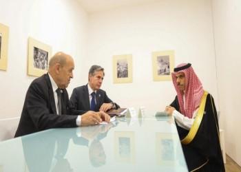 السعودية تناقش مع أمريكا التنسيق لمواجهة تدخلات إيران.. وفرنسا تنضم