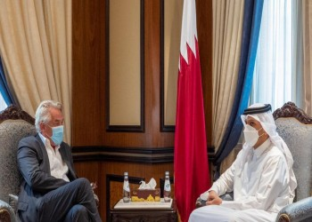 وزير خارجية قطر يبحث مع مبعوث أممي آلية توصيل المساعدات للفلسطينيين