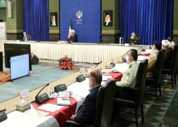 روحاني يحذر من موجة خامسة من جائحة كورونا في إيران