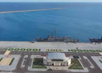 قائد البحرية القطرية يشارك في تدشين قاعدة 3 يوليو المصرية
