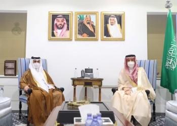مباحثات سعودية قطرية حول التعاون الثنائي والقضايا المشتركة