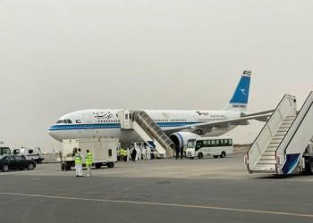 حريق بمحرك طائرة بحرينية أثناء هبوطها في مطار الكويت