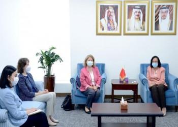 وزيرة بحرينية تشيد بالعلاقات الطيبة التي تجمع بلادها مع تركيا
