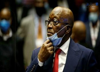 جاكوب زوما رئيس جنوب أفريقيا السابق يسلم نفسه للسجن