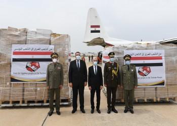 تضم 31 طنا من الأدوية.. مصر ترسل مساعدات لتونس