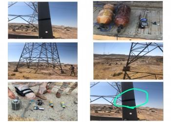 إحباط محاولتين لتفجير أبراج نقل الطاقة الكهربائية شمالي العراق