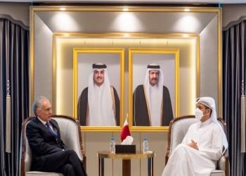 وزير خارجية قطر يجتمع مع المبعوث الأممي لأفغانستان لدفع عملية السلام