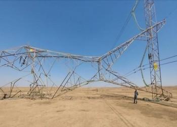 العراق.. استهداف 160 برجا وخطا لنقل الكهرباء في 7 أشهر