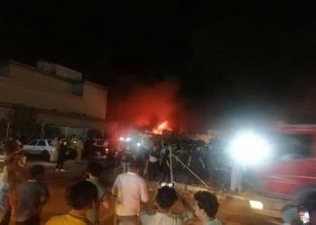 العراق.. 41 قتيلا وعشرات المصابين إثر حريق بمركز عزل لمرضى كورونا (فيديو)