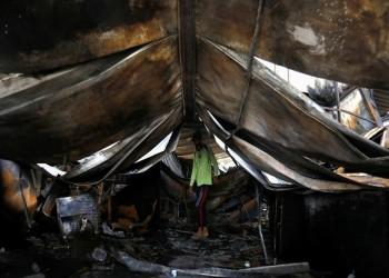العراق يعلن ارتفاع عدد ضحايا حريق مستشفى الحسين إلى 92 قتيلا