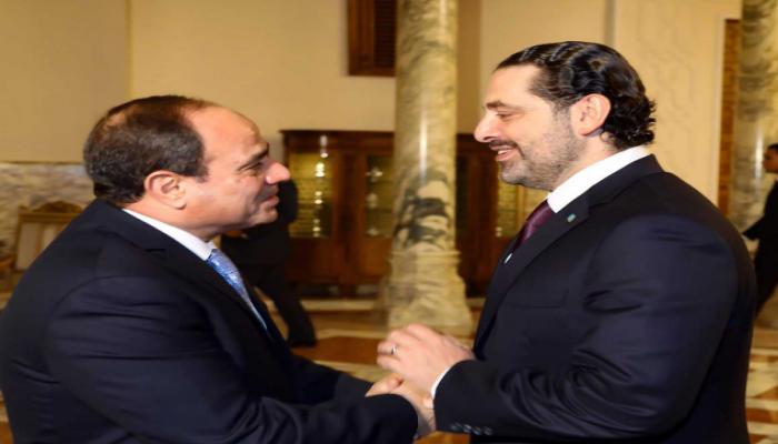 تقارير: الحريري ألغى لقاء مع عون وطار إلى القاهرة لمقابلة السيسي