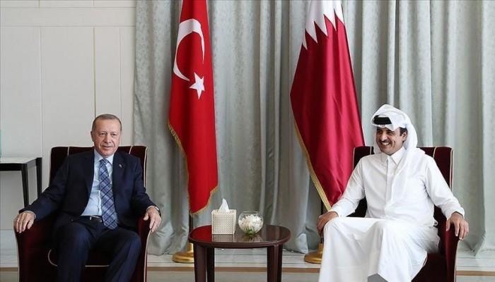 أمير قطر يهنئ الرئيس أردوغان بذكرى إفشال المحاولة الانقلابية