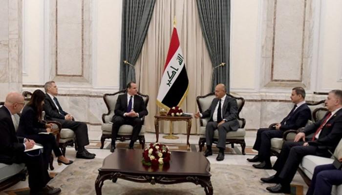 الكاظمي يلتقي المبعوث الأمريكي للشرق الأوسط في بغداد