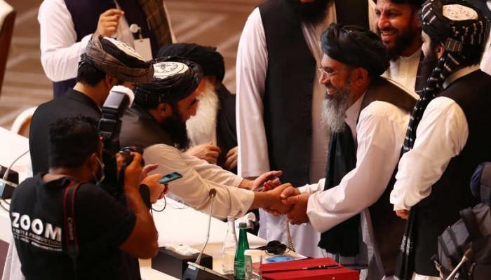 الدوحة.. بدء جولة محادثات جديدة بين وفدي طالبان والحكومة الأفغانية