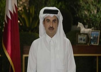 أمير قطر يهاتف العاهل السعودي وولي عهده