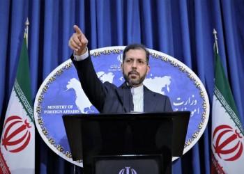 إيران تحمل الإمارات مسؤولية أي تدهور في المنطقة بسبب التطبيع