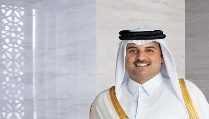 أمير قطر وروحاني يؤكدان على الحل السلمي لصراعات المنطقة