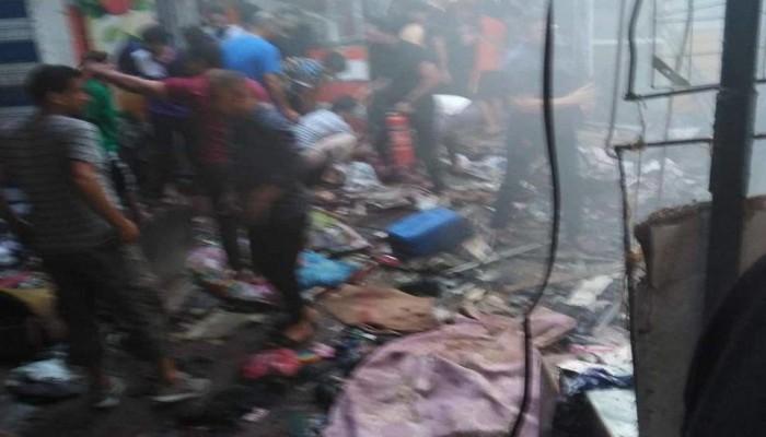 بغداد.. مقتل 31 على الأقل في تفجير بمنطقة الصدر (فيديو)