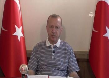 أردوغان: نسعى لضمان اعتراف دولي واسع لقبرص التركية