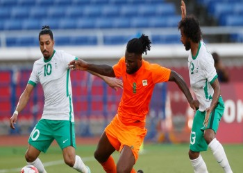 تعادل مصر وخسارة السعودية في أول مباريات الأولمبياد