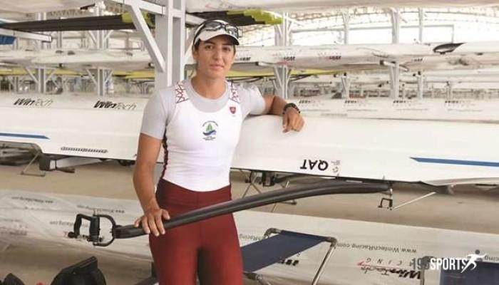أبو جبارة أمل القطريين في بطولة التجديف بأولمبياد طوكيو
