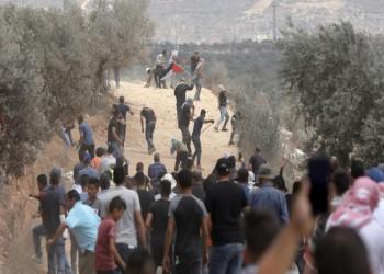 شهيد و300 مصاب في اعتداء إسرائيلي على متظاهرين بالضفة