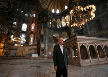 تركيا تتهم اليونسكو بالتحيز في انتقاداتها بشأن تحويل آيا صوفيا لمسجد
