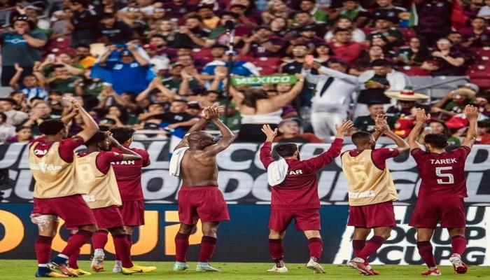 منتخب قطر يبلغ نصف نهائي كونكاكاف بفوز مثير على السلفادور (فيديو)