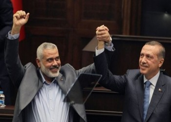 كاتب عبري: التقارب الإسرائيلي التركي مرهون بابتعاد أردوغان عن حماس