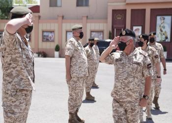 بعد عودتهما من أمريكا.. ملك الأردن وولي عهده يزوران قيادة الجيش