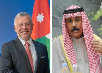 اتصال بين أمير الكويت وملك الأردن يبحث آخر المستجدات