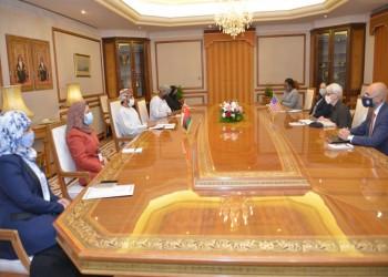 مباحثات أمريكية عمانية حول التعاون الثنائي والسلام في المنطقة