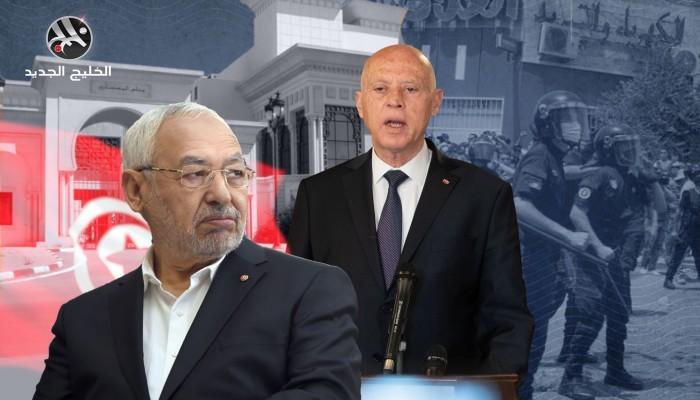 موقع فرنسي: الإمارات أكبر الفائزين في انقلاب تونس.. وسعيد ينتقم لبن زايد