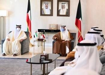 مرزوق الغانم يستقبل مسؤولا إماراتيا رفيعا خلال زيارته للكويت
