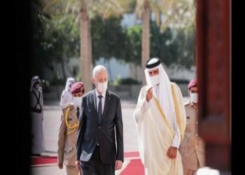 في اتصال مع سعيد.. الشيخ تميم يدعو لتجاوز الأزمة التونسية عبر الحوار