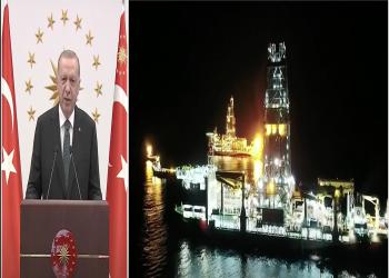 الرئيس التركي يعلن بدء إنتاج الغاز في البحر الأسود (فيديو)