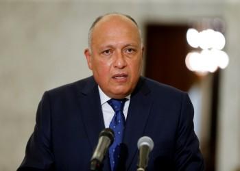 شكري يبحث مع نظيره الفرنسي أزمة سد النهضة والوضع في تونس ولبنان